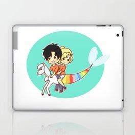 rainbow percabeth Laptop & iPad Skin