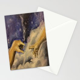 Michaelangelo High in Space Stationery Cards