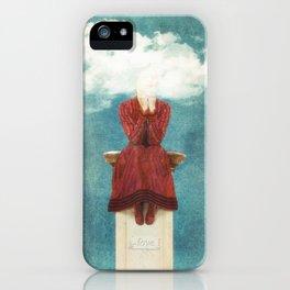 LOVE - Head in the Clouds iPhone Case