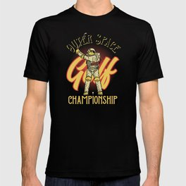 Outer Space Golf Championship T-shirt