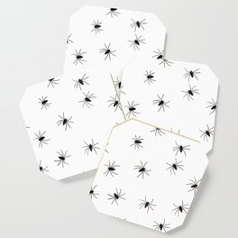 Spiders | Arachphobia | Happy Halloween | Gothic love | Bugs Coaster