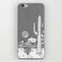 Desert Night Sky iPhone Skin