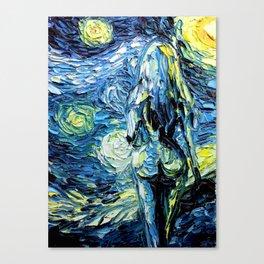 Under The Milky Way Tonight Canvas Print