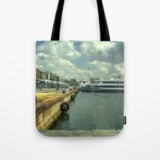 Port of Naples Tote Bag