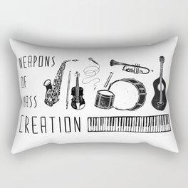 Weapons Of Mass Creation - Music Rectangular Pillow