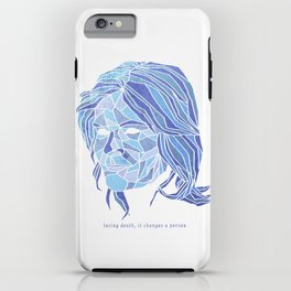 Crystallized Morality - Marie Schrader iPhone Case