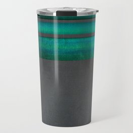 """Architecture, cement texture & colorful II"" Travel Mug"