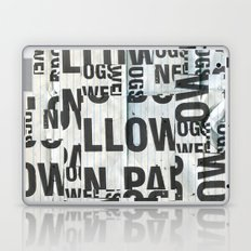 type mess Laptop & iPad Skin