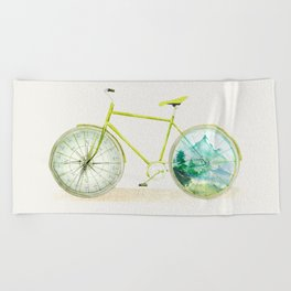 Have an Adventure Today Beach Towel