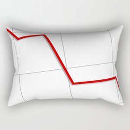 Statistic Down Rectangular Pillow