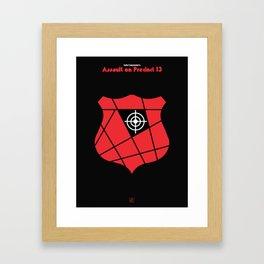 John Carpenter - Assault on precint 13 Framed Art Print