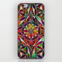 Flower of Life variation iPhone Skin