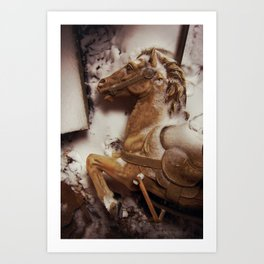 Winter Carnival Art Print