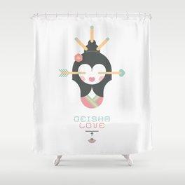 Geisha Love (Japan Contrasts series) Shower Curtain