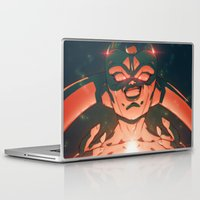 dbz Laptop & iPad Skins featuring Frieza by Mikuloctopus