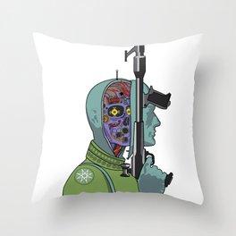 Clans of the Alphane Moon Throw Pillow