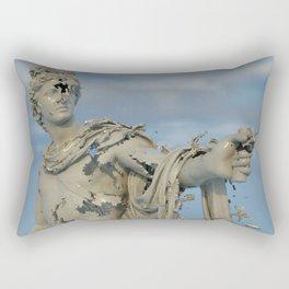 Apollo Belvedere - Disintegration Series Rectangular Pillow