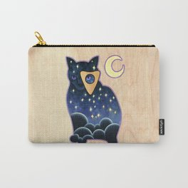 Ouija Cat Carry-All Pouch