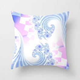 Quantum Bliss Throw Pillow