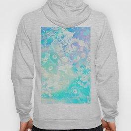Floral Dream Pastel Hologram Hoody