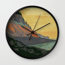 Five Islands Provincial Park Poster Wall Clock