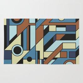 De Stijl Abstract Geometric Artwork 3 Rug