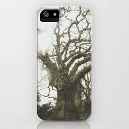 Thee Olde Tree iPhone Case