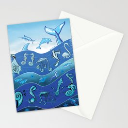 Ocean's Symphony Stationery Cards