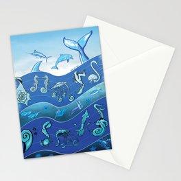 Ocean's Symphony Stationery Cards