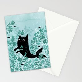 Undersea (Mint Remix) Stationery Cards