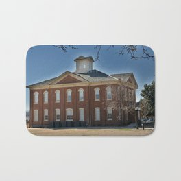 Cherokee Nation - Capitol in Tahlequah, No. 3 of 3 Bath Mat