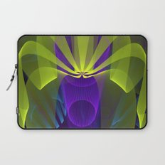 Modern abstract in 3-d Laptop Sleeve