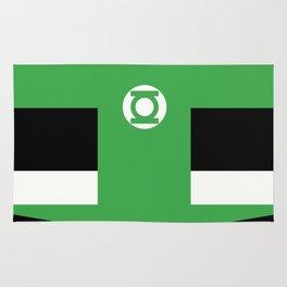 green lantern Rug