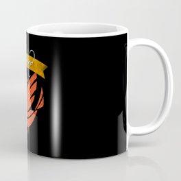 Vintage Retro Bird with Love is Love Be Kind Coffee Mug