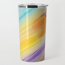 """Catch the Sun #1 – Sequel #2"" Oil Painting Travel Mug"