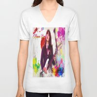 scandal V-neck T-shirts featuring Scandal Baby by Don Kuing