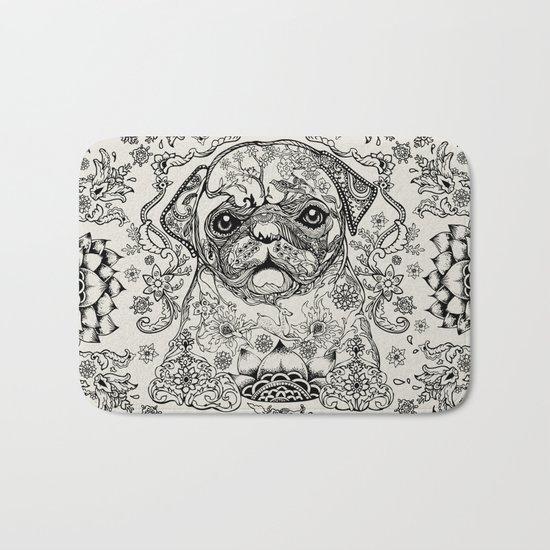 Persian Pug Bath Mat