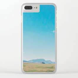 Big Sky Country Clear iPhone Case