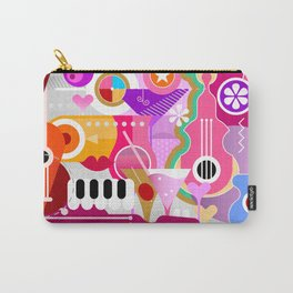 Cocktails and Music Carry-All Pouch