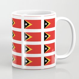 Flag of timor -Timor leste,Timór Lorosa'e , dili,tetum,Timorese,Maubere. Coffee Mug