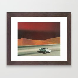 The Great Divide Framed Art Print