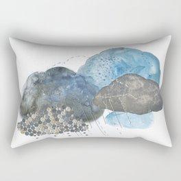 Melting Snow Rectangular Pillow