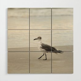 Seagull Stroll Wood Wall Art
