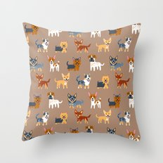 AUSSIE DOGS Throw Pillow