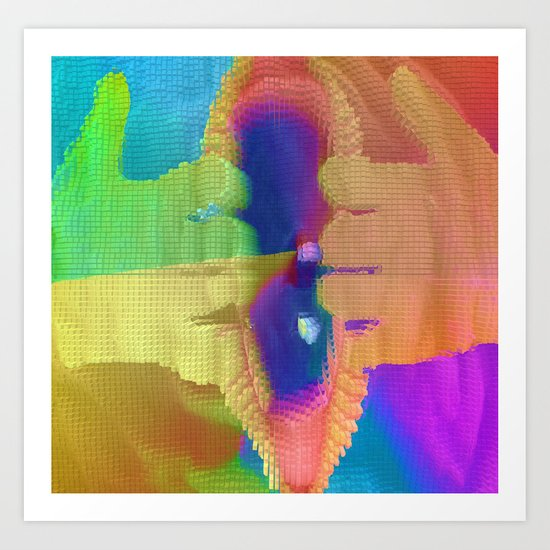 Eye-Opener Art Print