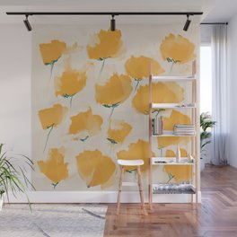 The Yellow Flowers Wall Mural