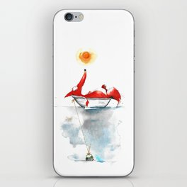 Moment mal. iPhone Skin