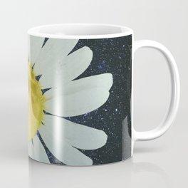 Galaxy Moon Daisy Coffee Mug