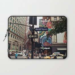 NYC Herald Square Laptop Sleeve