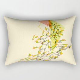 Triangled 01 Rectangular Pillow